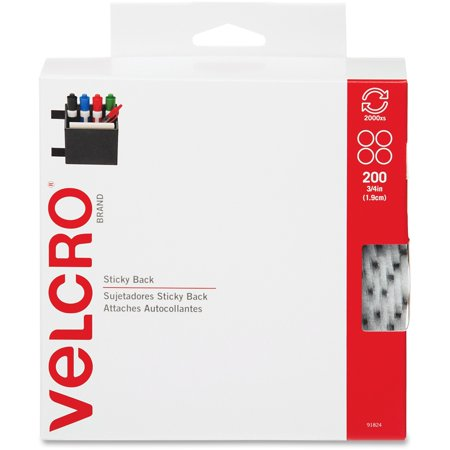 - VELCRO Brand VELCRO Brand Sticky Back Round Coin Tape