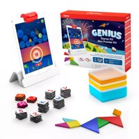 Osmo - Genius Starter Kit for iPad - New Version - Ages 6-10