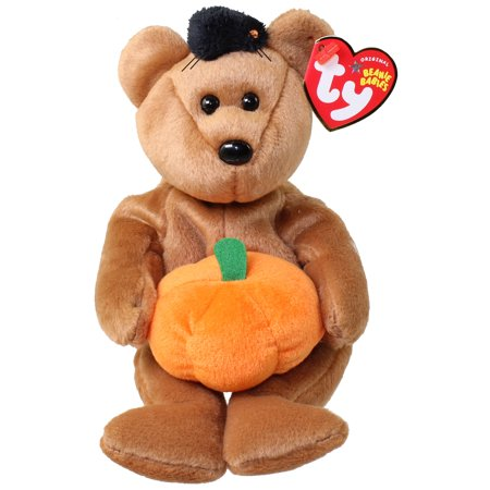 TY Beanie Baby - HOCUS the Halloween Bear (9 inch)