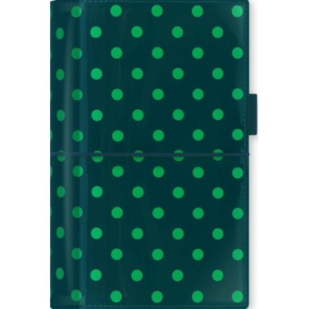 Filofax Domino Patent Personal Organiser (Pine Spots) (Diary)