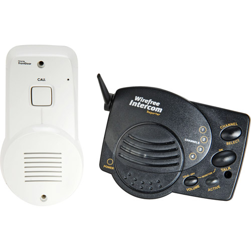 Chamberlain Wireless Front Doorbell Intercom System With