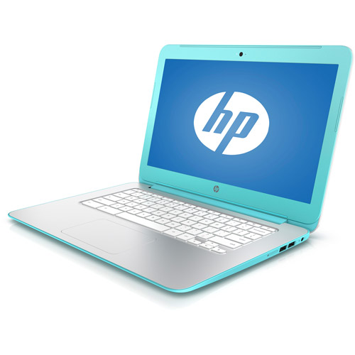 "Refurbished HP Turquoise 14.0"" 14-X010WM Chromebook PC with NVIDIA Tegra K1 Mobile Processor, 2GB Memory, 16GB eMMC and Chrome OS"
