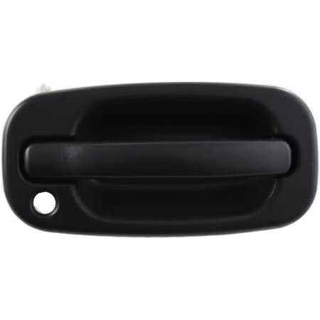 For Chevrolet Silverado 1500 HD Classic Exterior Door Handle Front, Passenger Side Textured Black (2007 - 2007) | With Key Hole| Trim: LT Silverado 1500 Exterior Door Handle