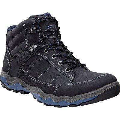 d563742e8c829 ... ecco men's ulterra dhaka mid boot,black/denim blue nubuck/textile,eu
