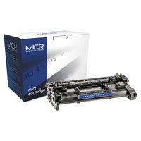 MICR Print Solutions Compatible 26AM MICR Toner, 3100 Page-Yield, Black