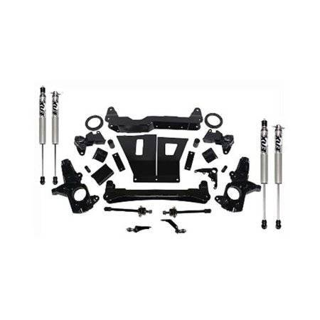 Cognito Motorsports COGBOX100430 4 in. Non Torsion Drop Front Susp Lift System Subframe Component Box for 2011-2016 GM 8-Lug
