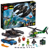 LEGO DC Comics Super Heroes Batman Batwing and The Riddler Heist 76120 (489 Pieces)