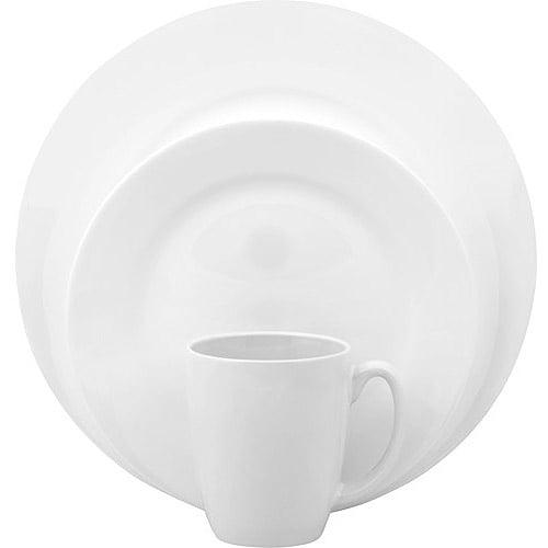 Corelle Vive Dazzling White 16-Piece Dinnerware Set
