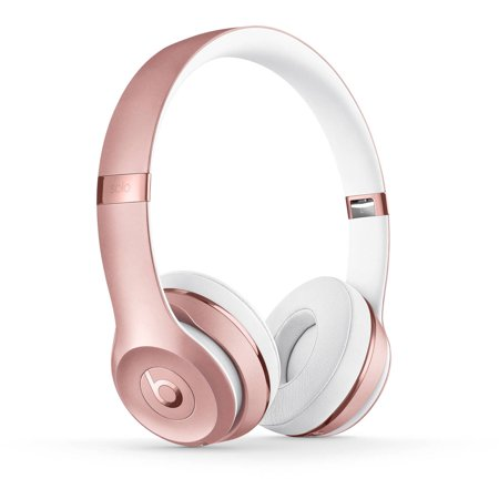 Beats MNET2LL/A Solo3 Wireless On-Ear Headphones - Rose Gold, Refurbished (Gold Beats Wireless)