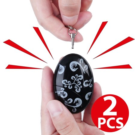 2pcs 120db emergency personal alarm keychain for women kids girls 2pcs 120db emergency personal alarm keychain for women kids girls superior explorer self defense electronic device aloadofball Image collections