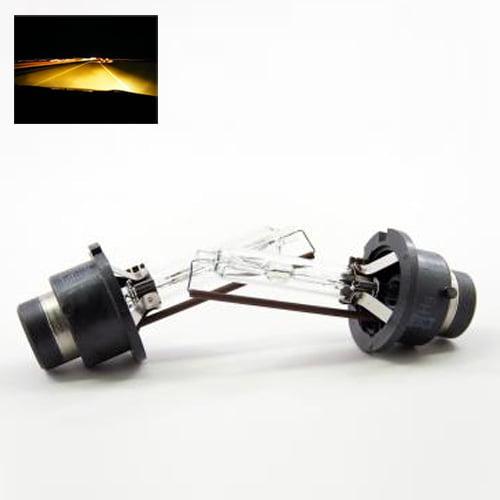 ModifyStreet® D2S/D2R/D2C Xenon HID Replacement Bulbs - 3000K Yellow