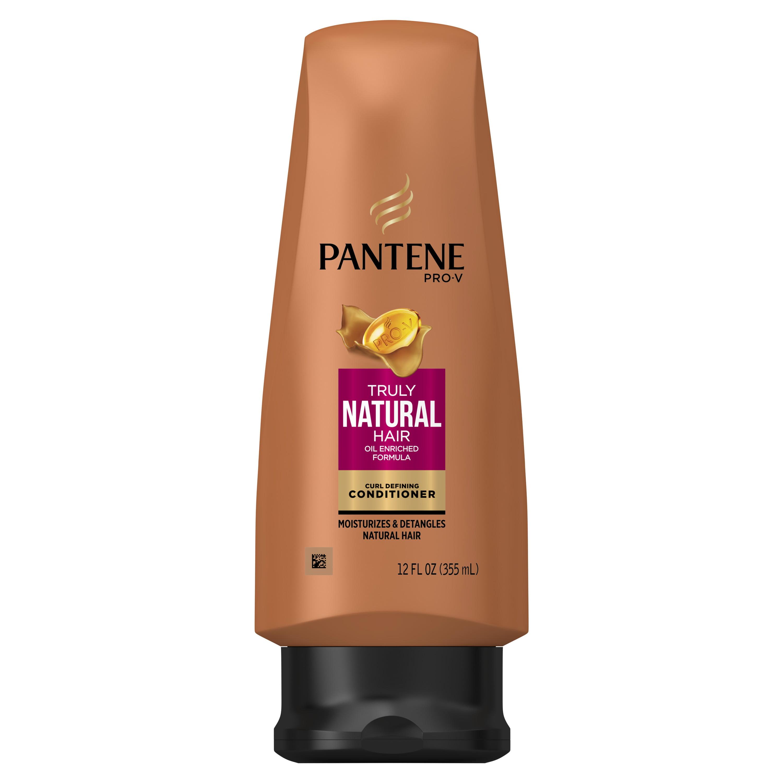 Pantene Pro-V Truly Natural Hair Curl Defining Conditioner, 12 fl oz