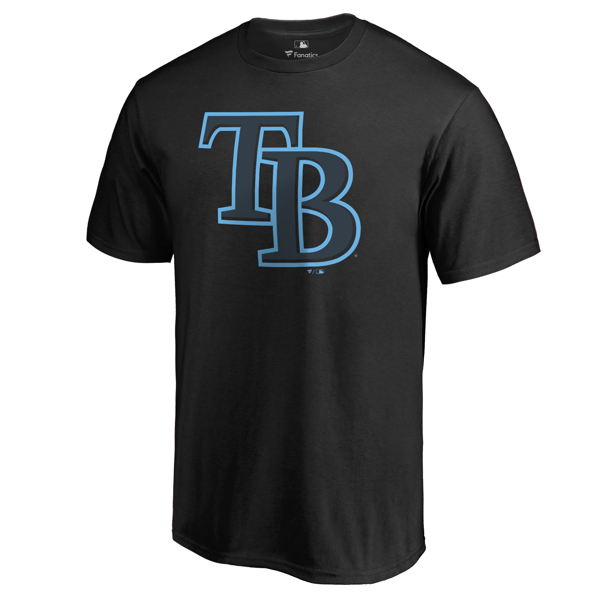 Tampa Bay Rays Taylor T-Shirt - Black