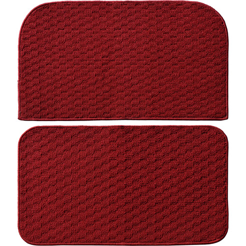 "Garland Rug Town Square 2pc Kitchen Rug Slice and Mat, 18"" x 28"""