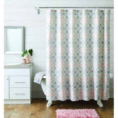 Better Homes & Gardens 14 Piece Geometric Shower Curtain Set
