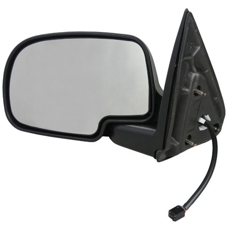 Ext Mirror - NEW LEFT DRIVER DOOR MIRROR FITS 2002-2006 CADILLAC ESCALADE EXT POWER HEAT GM1320250 GM1320251