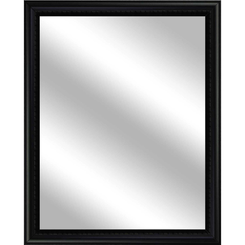 Vanity Mirror, Black, 25x31 by PTM Images