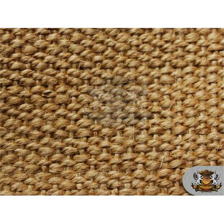 Burlap Natural Fiber Weave Carpet Fabric / 62