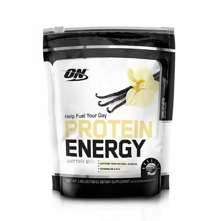 Energy Protein Powder - Optimum Nutrition Protein Energy Protein Powder, Vanilla Latte, 20g Protein, 1.6 Lb