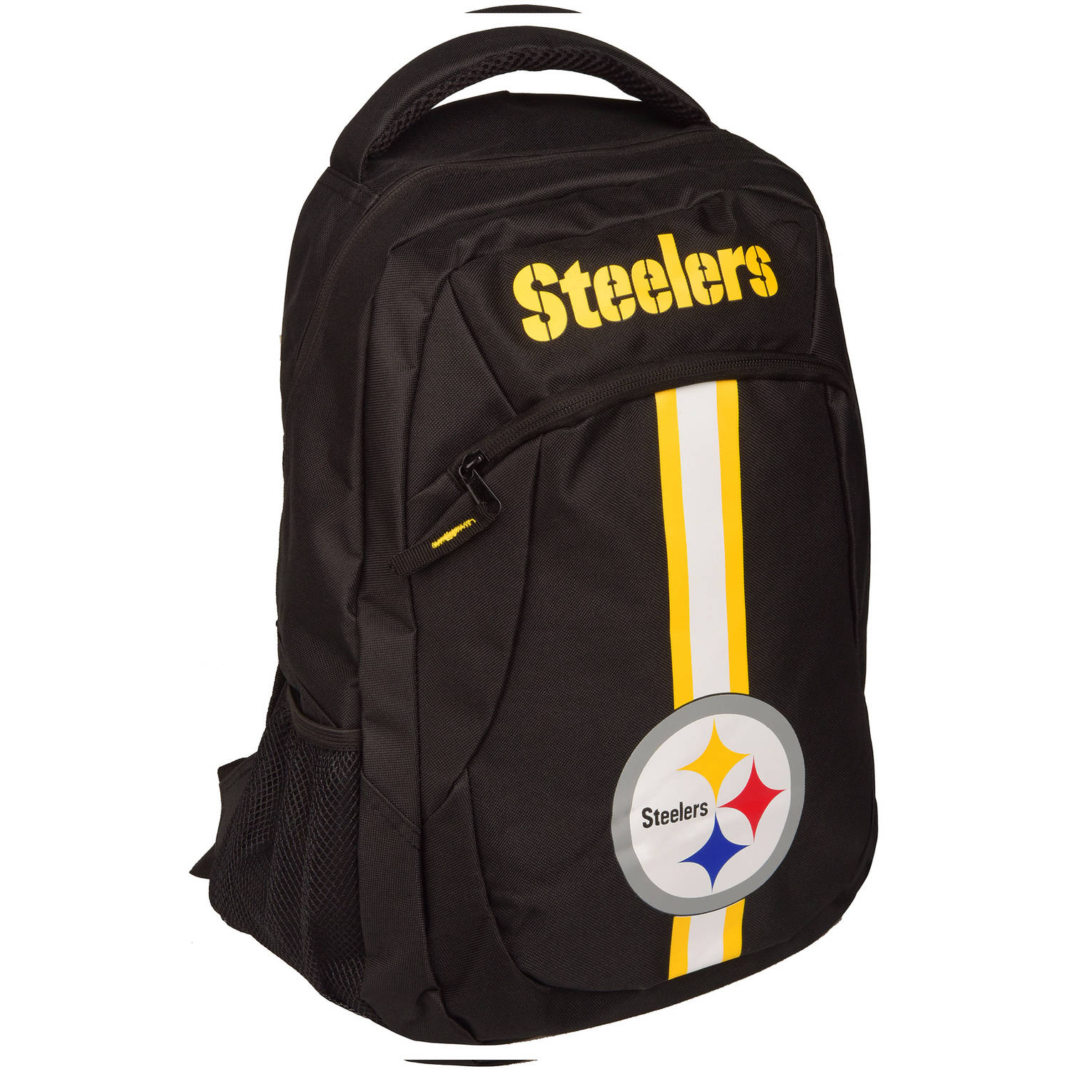 Forever Collectibles NFL Pittsburgh Steelers Action Stripe Logo Backpack