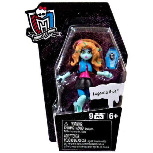 Monster High Mega Bloks Ghouls Skullection Lagoona Blue Mini Figure