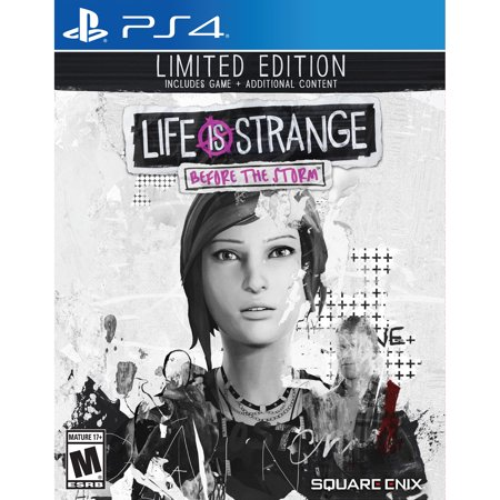 Square Enix Life is Strange: Before the Storm Limited Edition (PS4) (Desert Storm Game)