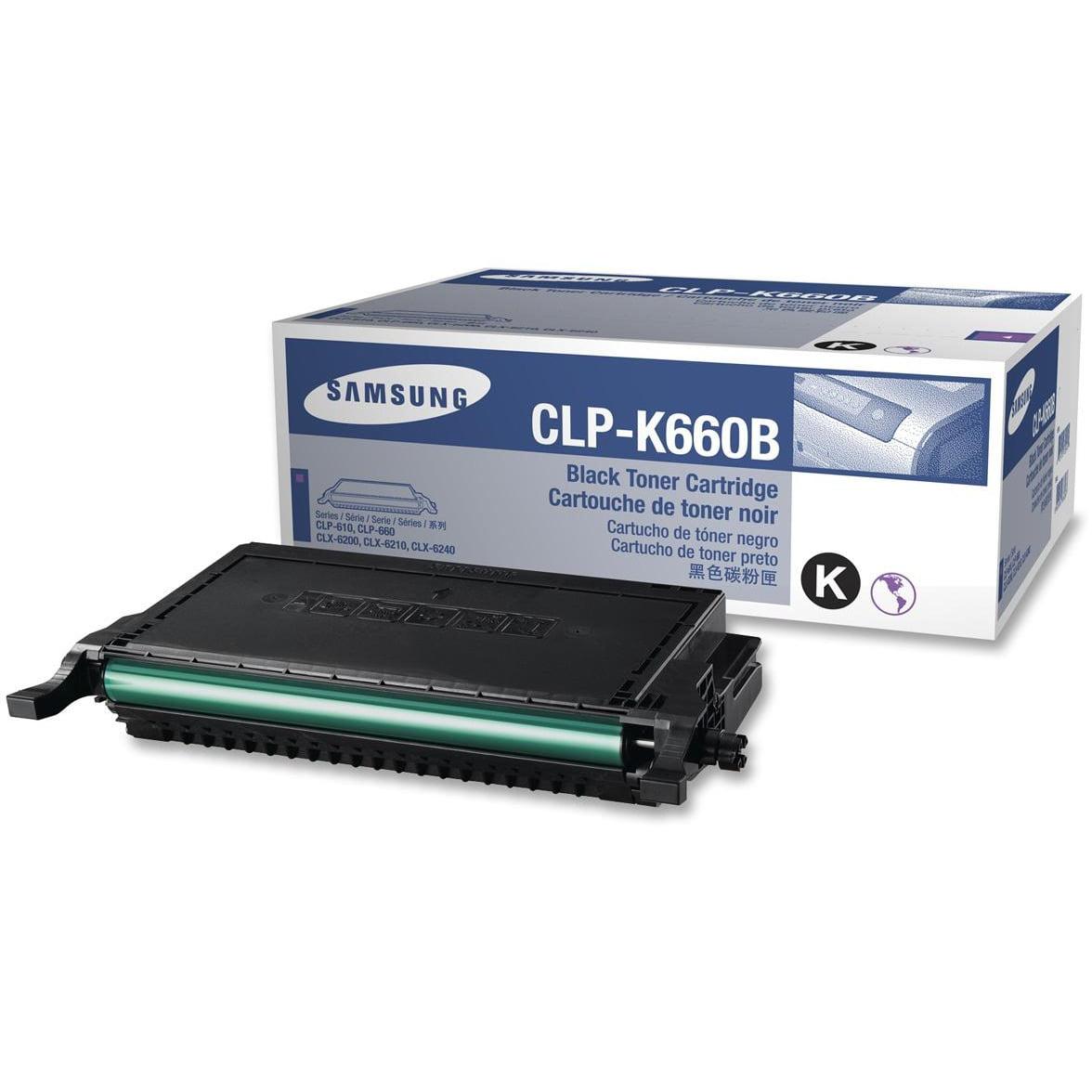 Samsung, SASCLPK660B, CLPK660B Toner Cartridge, 1 Each