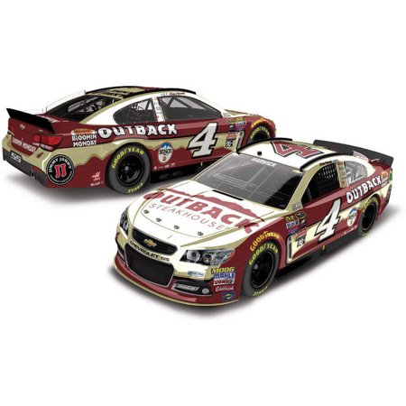 Kevin Harvick #4 Outback Steakhouse 2016 Chevrolet SS Color Chrome NASCAR Diecast Car, 1:24 Scale ARC HOTO produced by Lionel