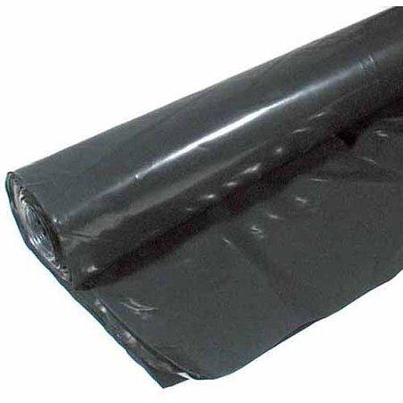 Warp Brothers 12-4CH10B 10' x 25' 4 ML Black Plastic Sheeting