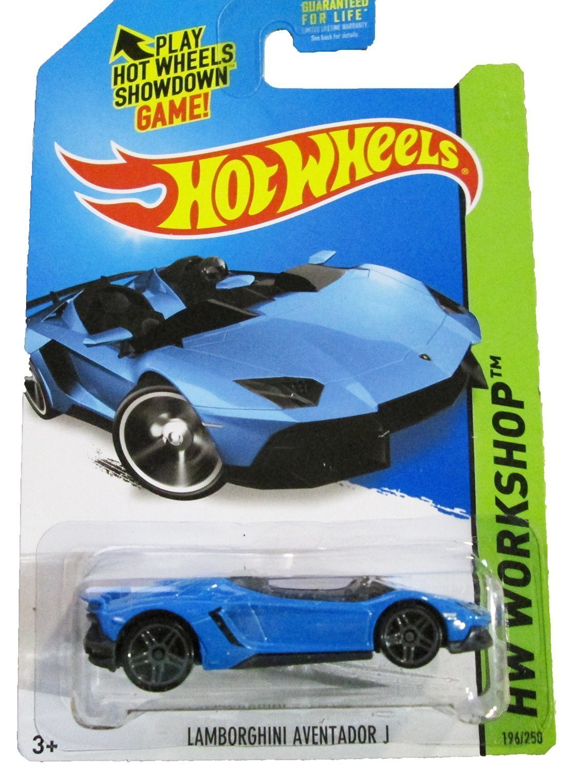 Superb Hot Wheels   2014 HW Workshop   HW All Stars 196/250   Lamborghini Aventador