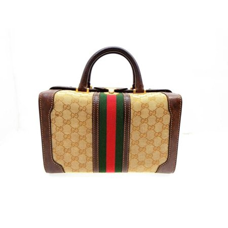 Gucci Sherry Signature Web Trunk Bag 230272