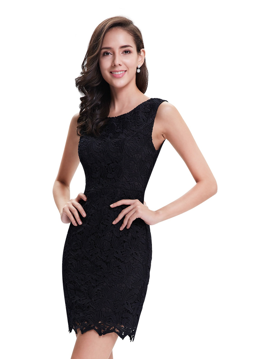 Ever-pretty - Ever-Pretty Womens Elegant Short Floral Lacey Formal Cocktail  Party Wedding Guest Summer Sheath Dresses for Women 05125 Black US 4 -  Walmart. ... 06bc81cd2