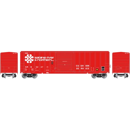 UPC 797534242883 product image for Athearn N Scale 50' FMC 5347 Box Car Sabine River & Northern/SR&N #5247 | upcitemdb.com