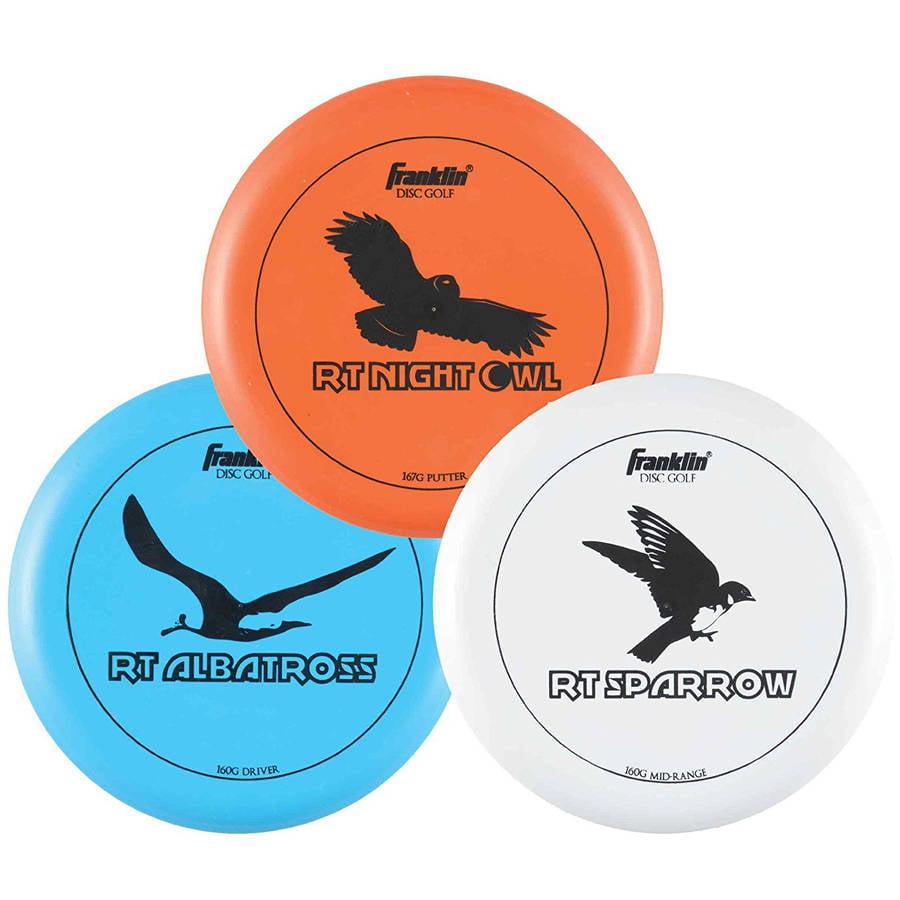Franklin Sports Disc Golf 3 Disc Pro Set by Franklin Sports