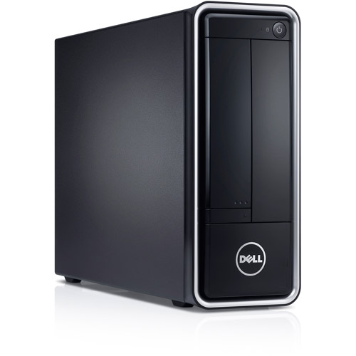 Dell Black Inspiron i660s-3848BK Desktop PC with Intel Pentium G645 Processor, 4GB Memory, 500GB Hard Drive and Windows 8 (Monitor Not Included)