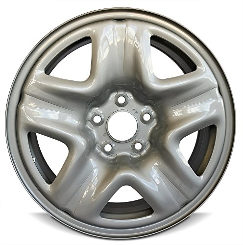 New 17x6.5 Honda Accord (13-15) CR-V (07-11) 5 Lug Steel Rim Gray Full Size Replacement Steel Wheel