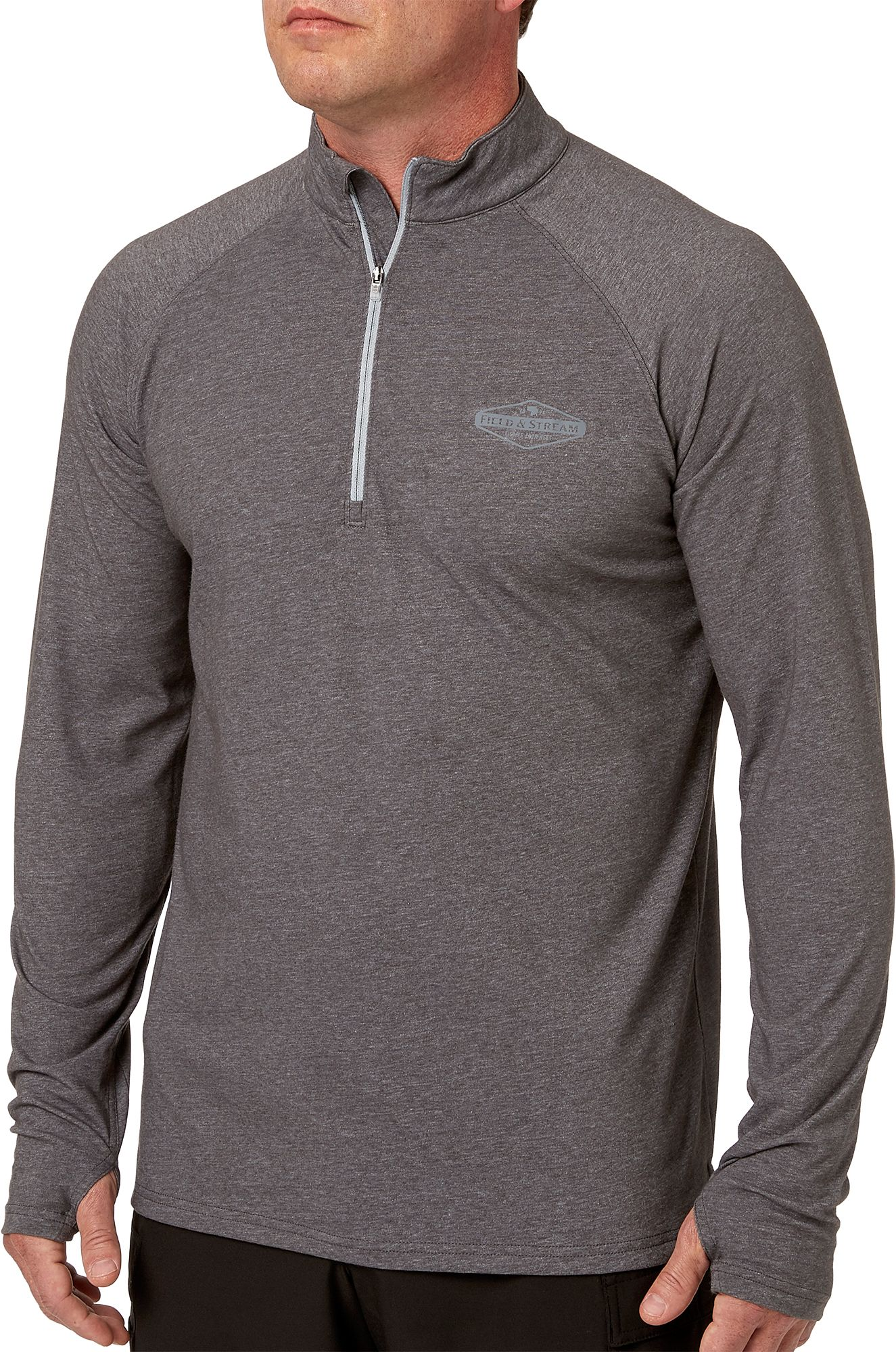 By Hanes Adult Beefy-T Long-Sleeve T-Shirt/_Charcoal Heather/_L