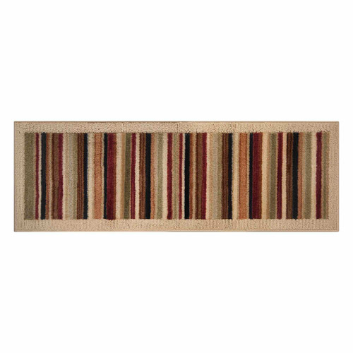 """Better Homes and Gardens Shannon Stripe Accent Rug, 1'7.5"""" x 5'"""