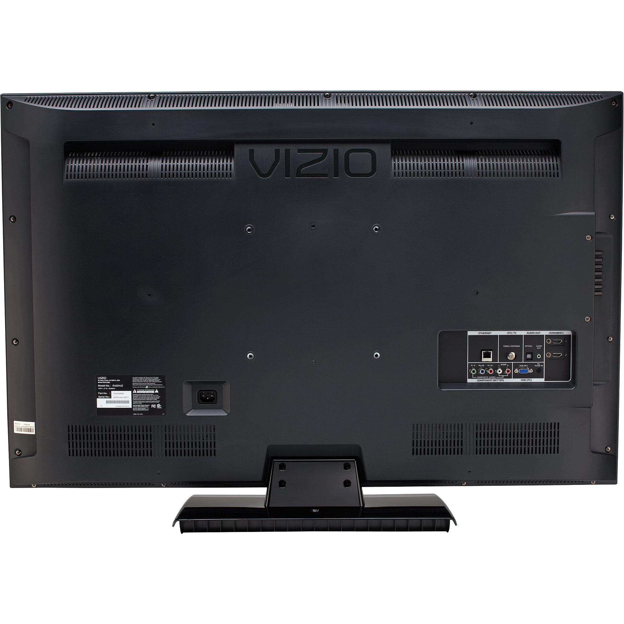 """Vizio 42"""" Class LCD 1080p 120Hz refresh rate HDTV, E422VLE"""
