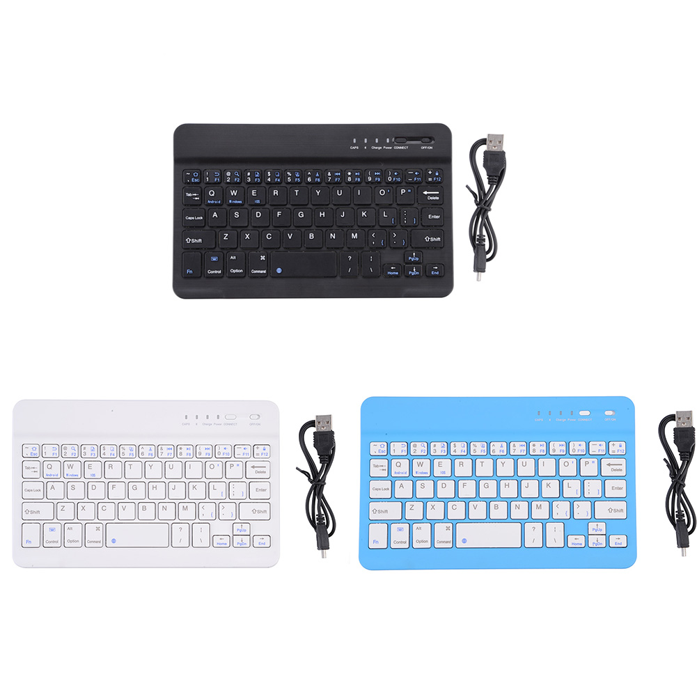 Clearance! Portable Bluetooth3.0 Slim Wireless Keyboard for Android iOS Tablet PC Laptop