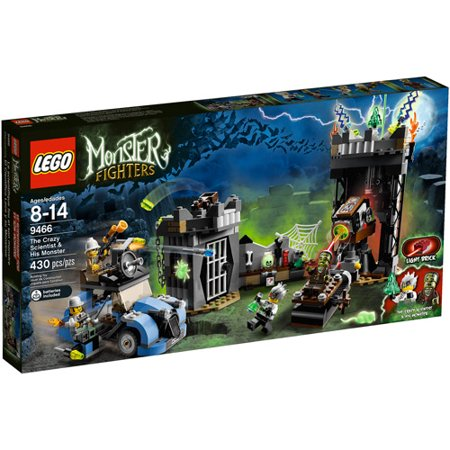 LEGO Monster Fighters The Crazy Scientist and His Monster Play Set