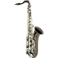 Allora Paris Series Professional Tenor Saxophone AATS-805 - Black Nickel Body - Silver Plated Keys