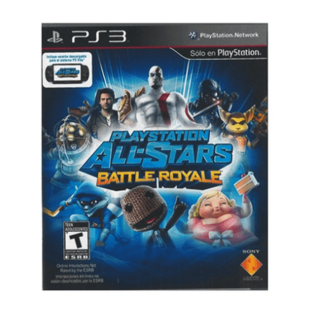 PlayStation 3  All-Stars Battle Royale Spanish Package/English