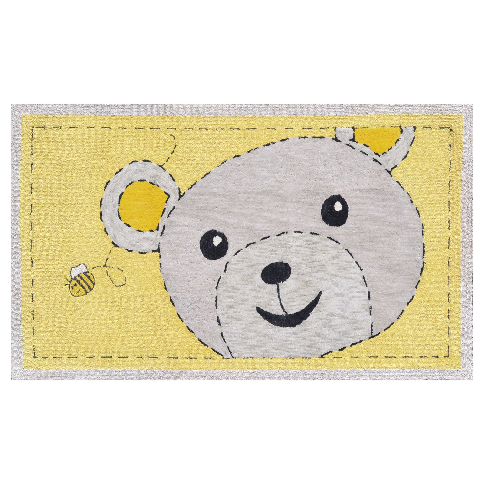 The Rug Market Bee-Z-Bear Size 2.8' x 4.8' Area Rug