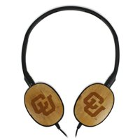Colorado Buffaloes Bamboo Headphones