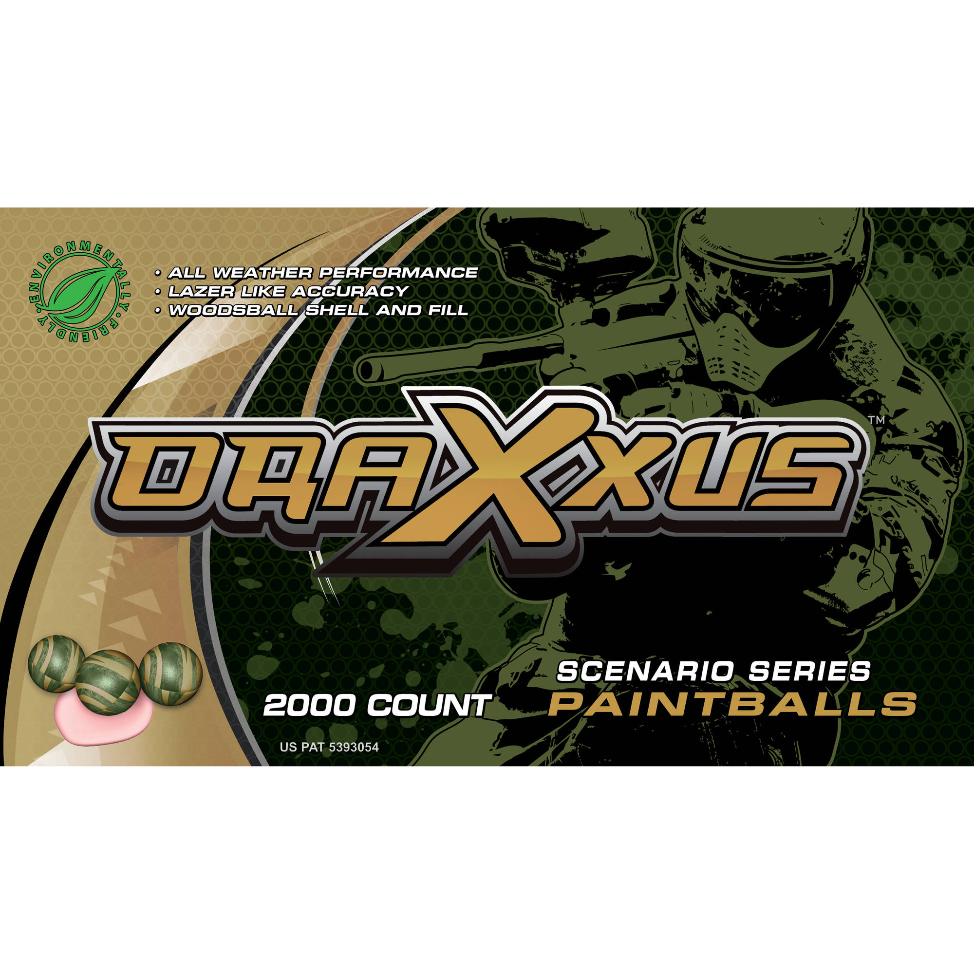 Draxxus Scenario 2000-Count Paintballs