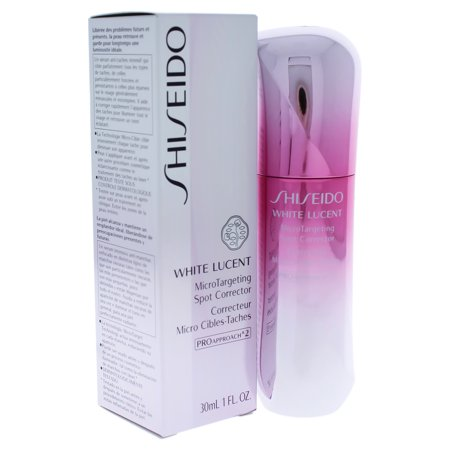 White Lucent MicroTargeting Spot Corrector by Shiseido for Women - 1 oz