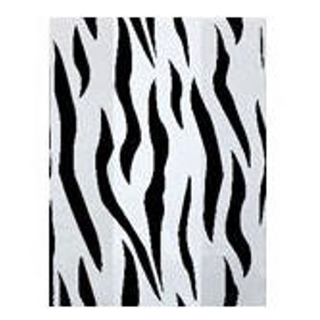 Zebra Print Cello Bags - Food & Party Favor Treat Bags -12ct