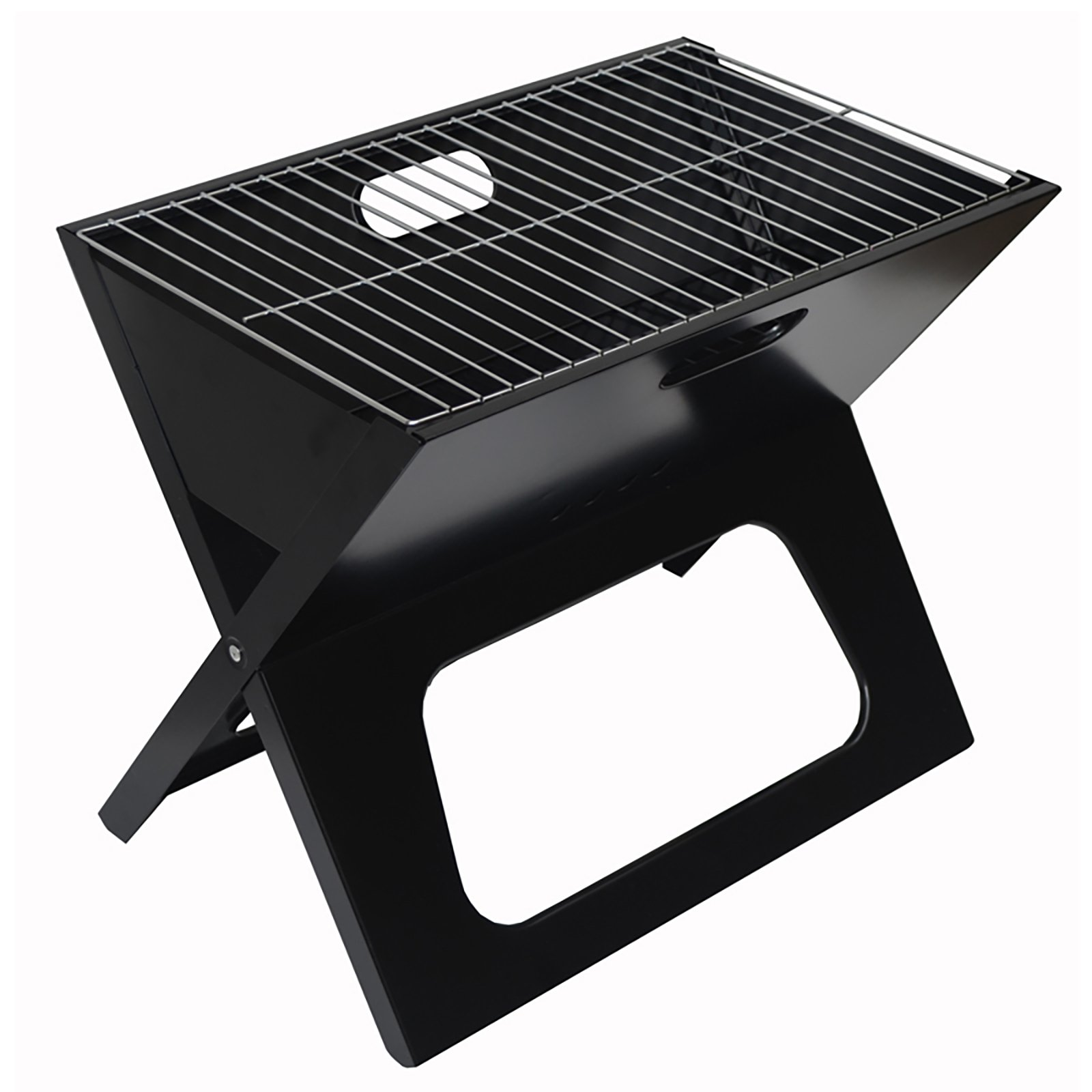 Picnic at Ascot B025 Folding Portable BBQ Grill with Carrier