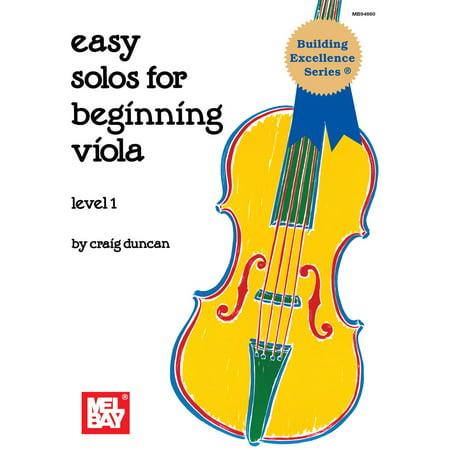 Easy Solos for Beginning Viola - eBook ()